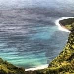 A bay off of Molokai