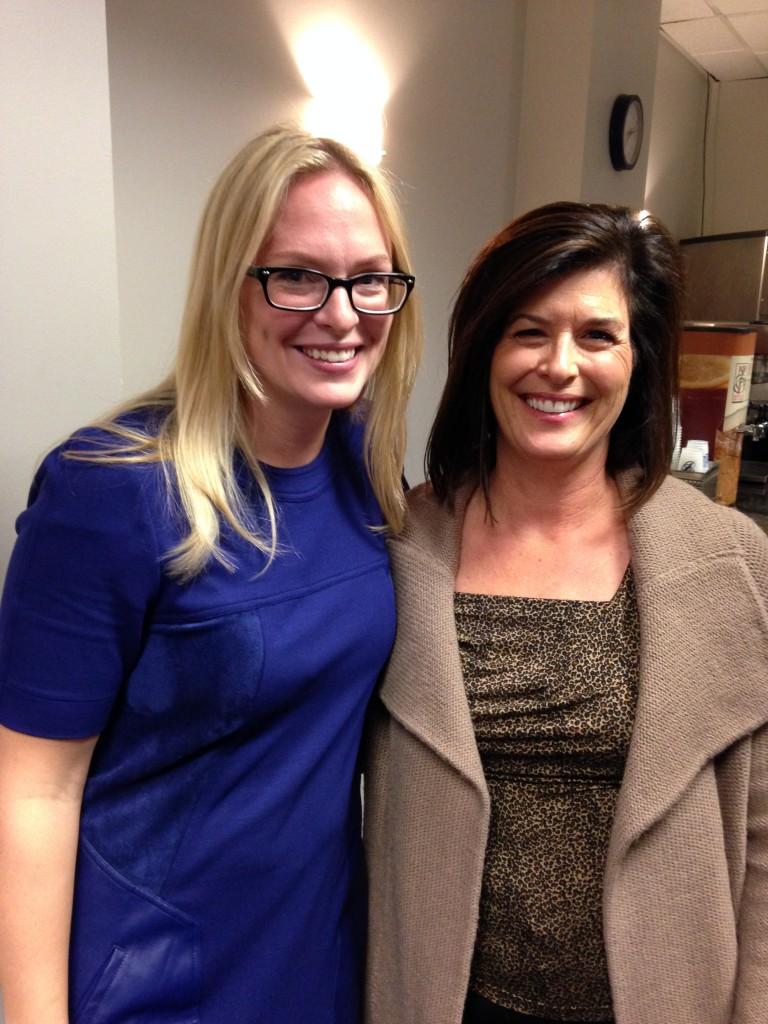 Jessie Cooper and Bonnie Gwozdecky.