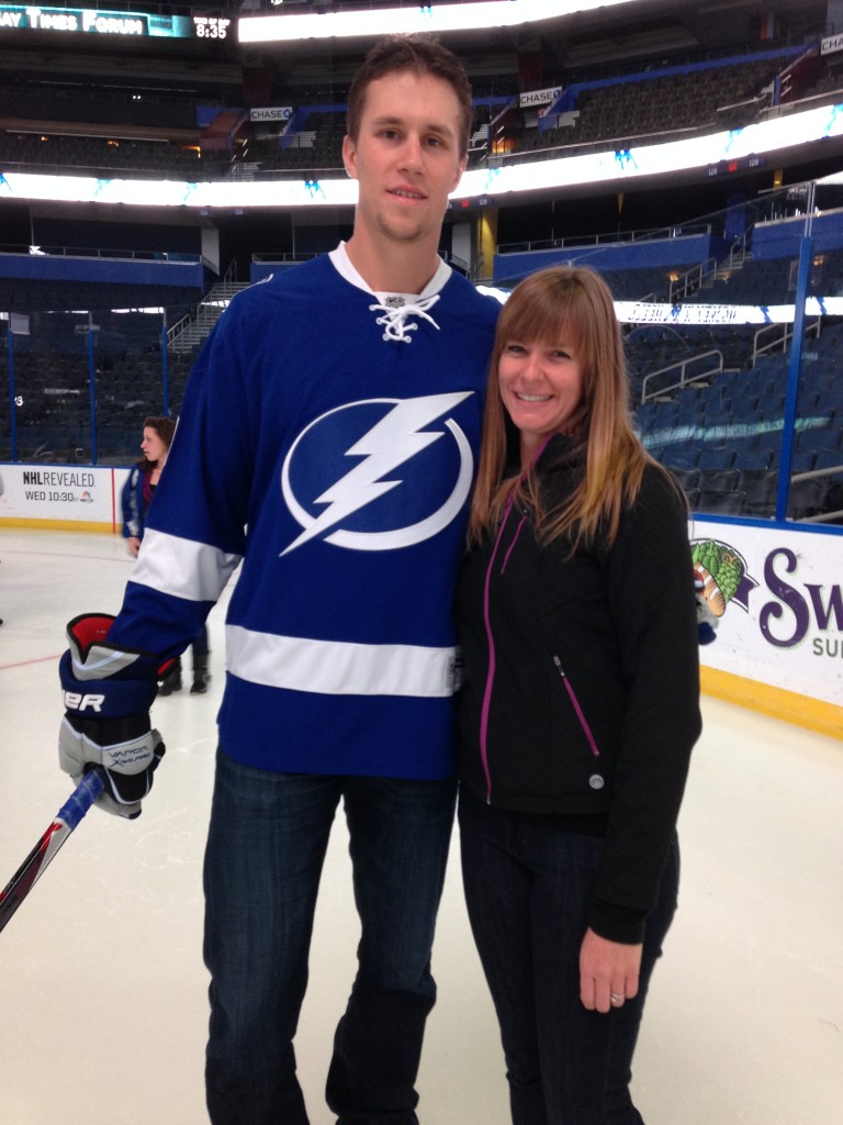 Keith Aulie and me.