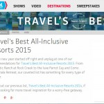 TravelChannel.com: Travel's Best All-Inclusive Resorts 2015