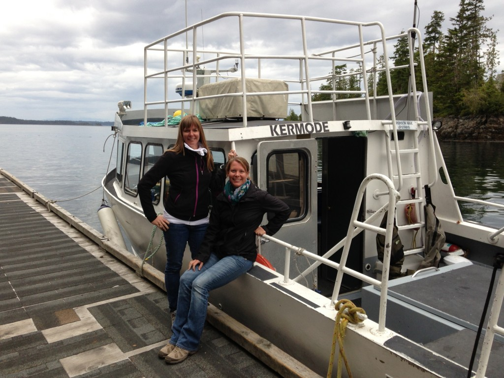 with ordinary traveler - christy in vancouver island