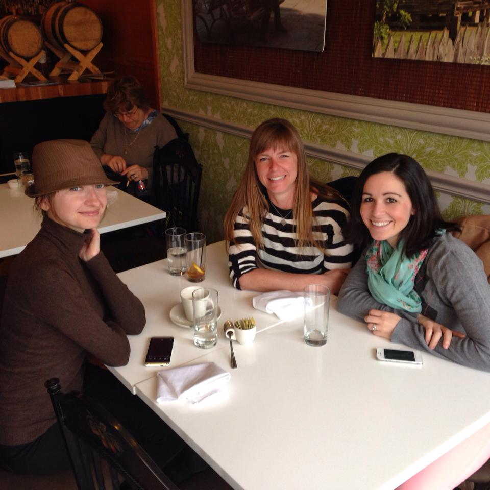 Such a fun lunch with Pola (Jetting Around) and Beth (Go Girl Travel Network) in Chicago!