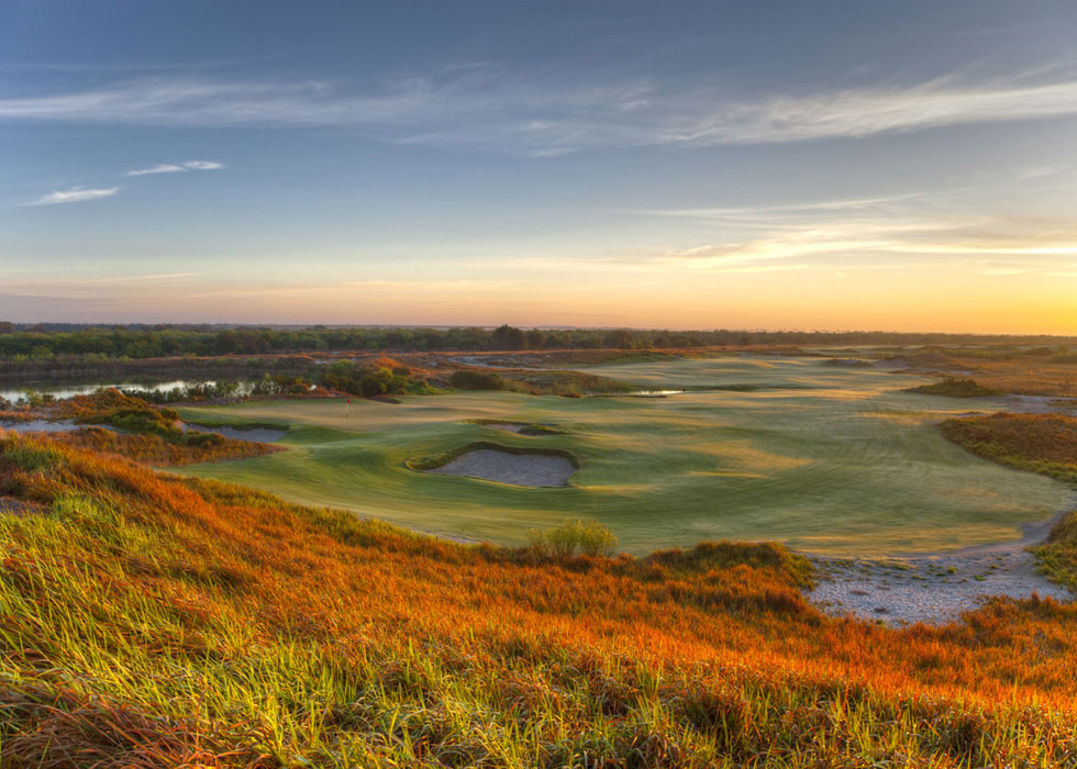 Overlooking Streamsong Resort. (photo courtesy of Streamsong Resort)