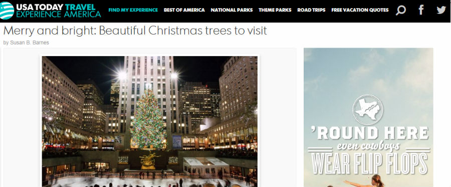 Merry and bright: Beautiful Christmas trees to visit