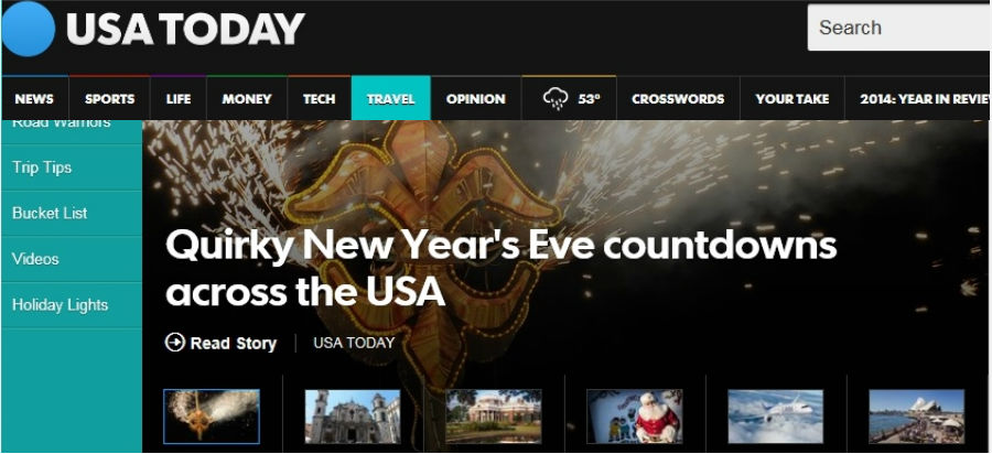 New Year's Eve: Unusual drops around the USA