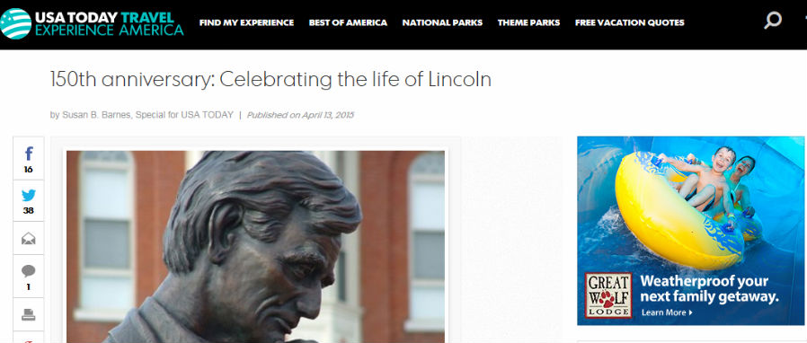 150th anniversary: Celebrating the life of Lincoln